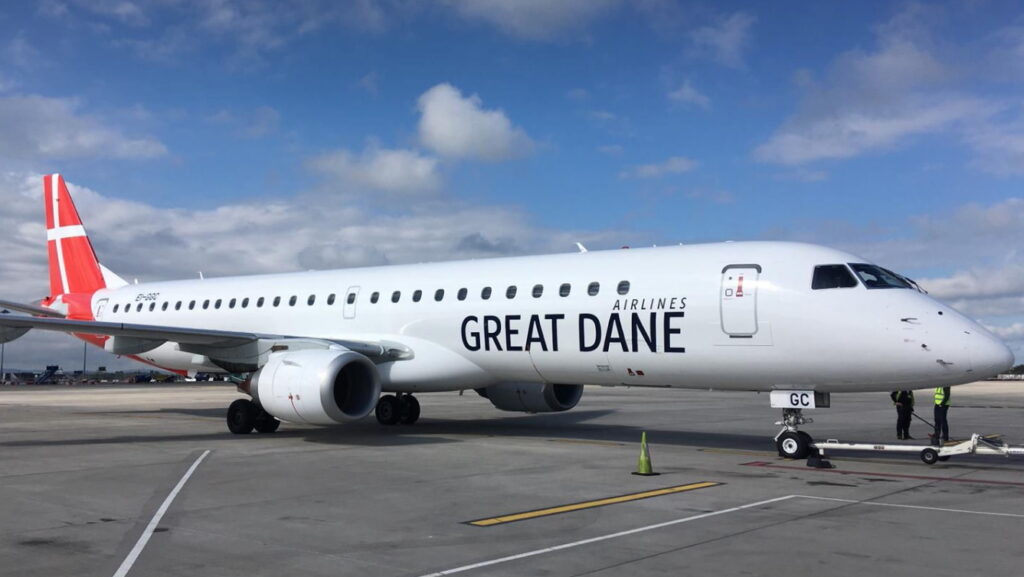 Embraer E195 Great Dane Airlines